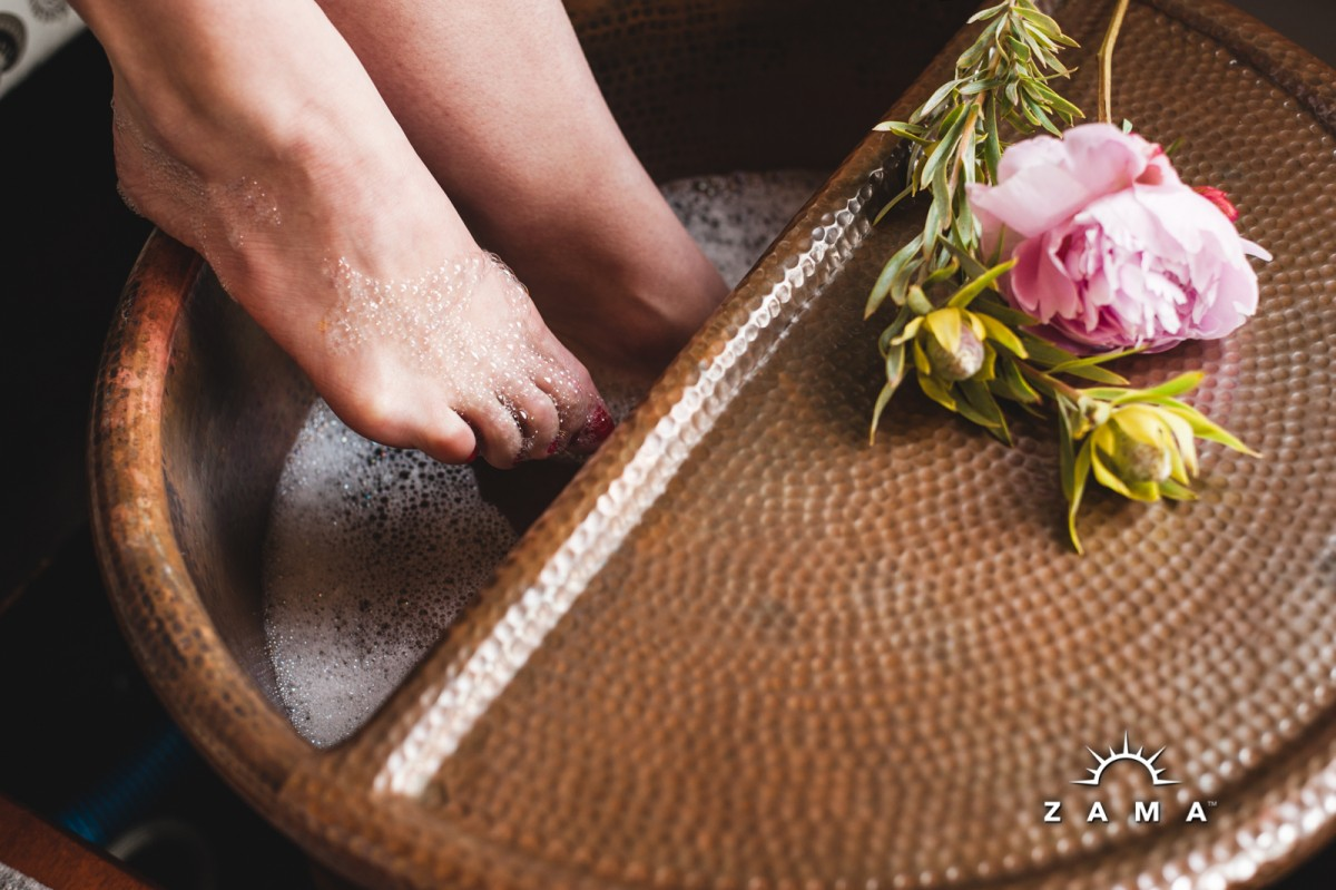 Organic Soothing Foot Treatment