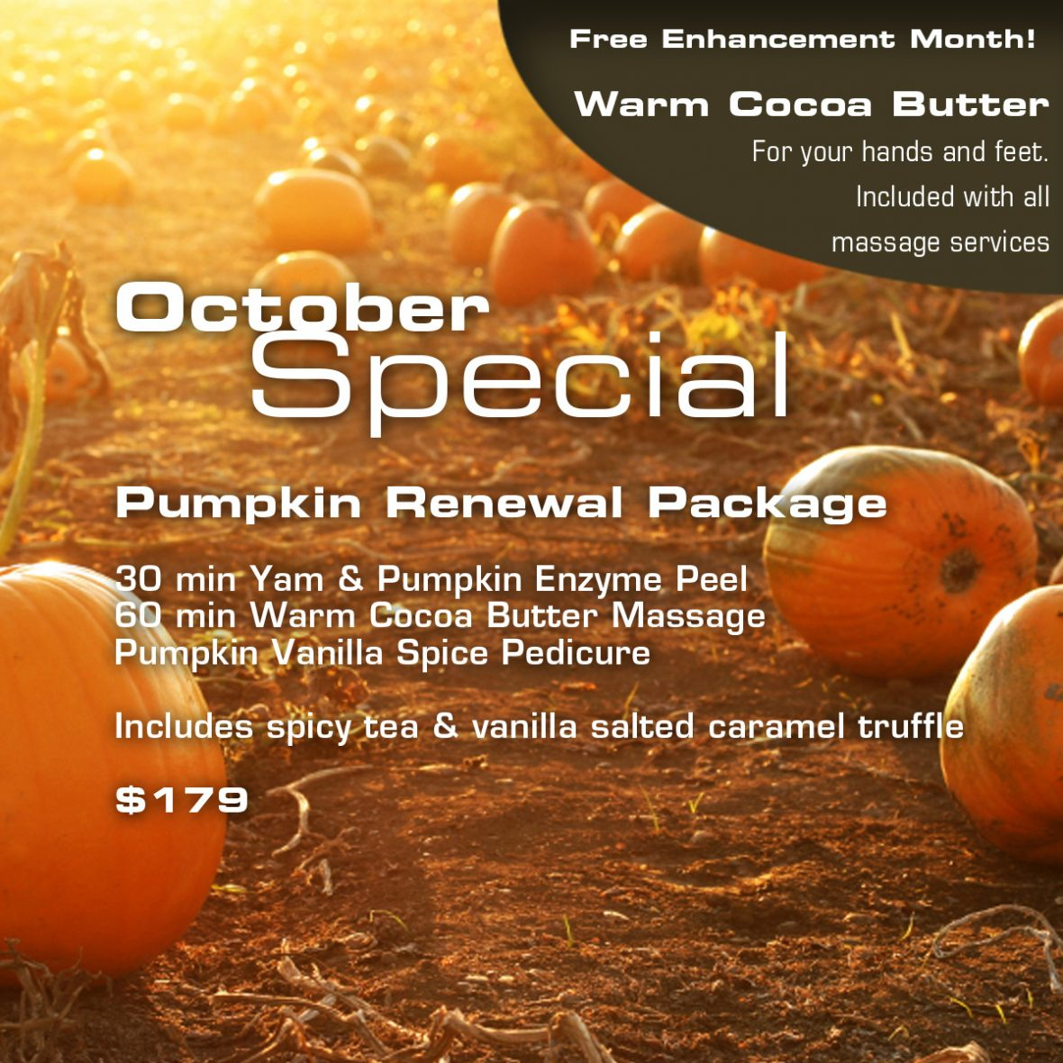 Zama October Specials