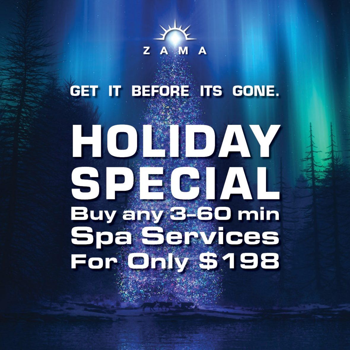 Treat Yourself to Some Holiday Cheer at Zama!