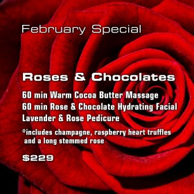 Roses and Chocolates Romance Package