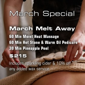 March Melt Away Special