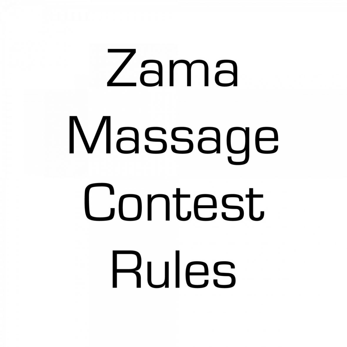 ZAMA ONLINE CONTEST RULES