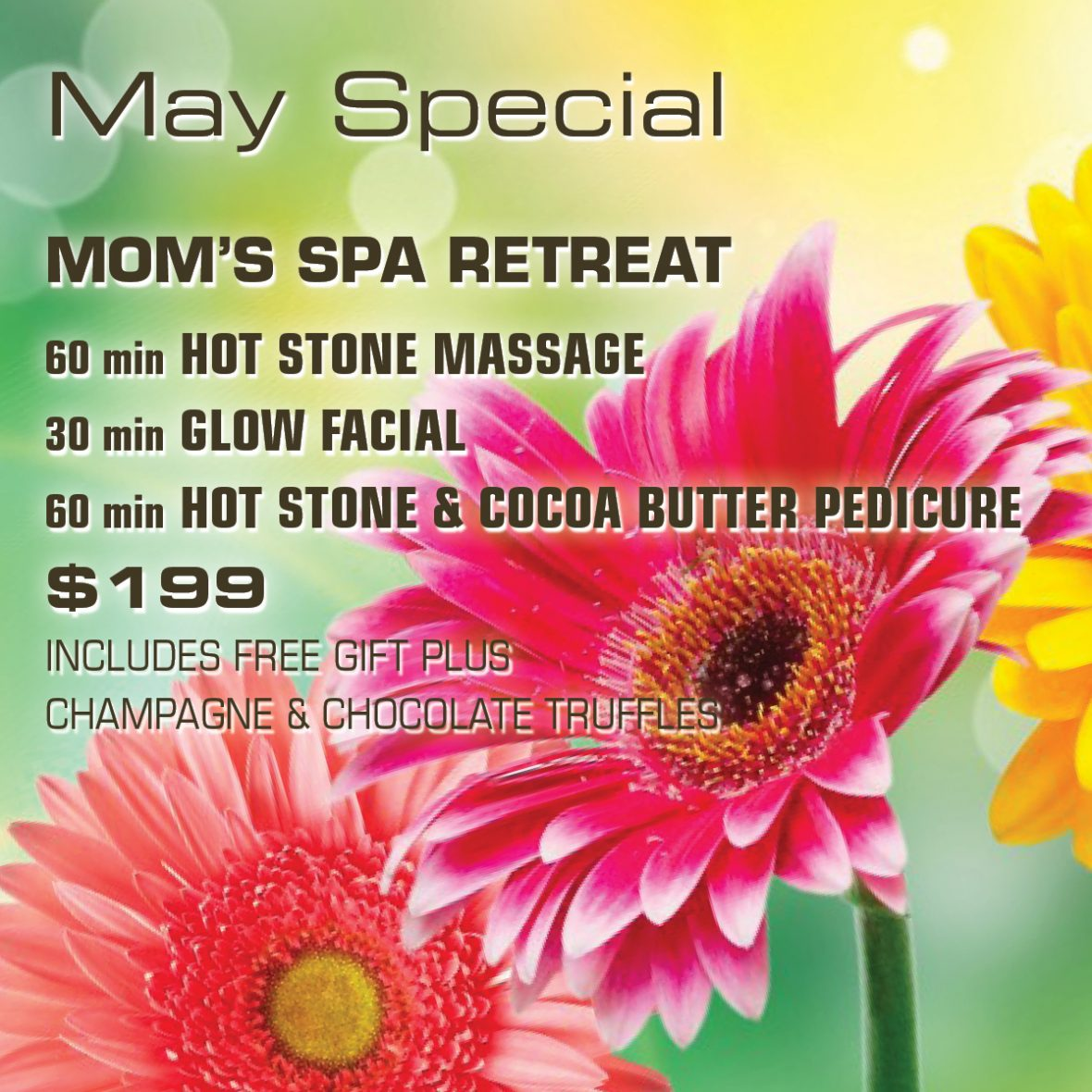 May Special: Mom's Spa Retreat