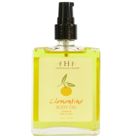 October Featured Product: Clementine Body Oil