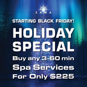 Zama's Holiday Special Is Back!