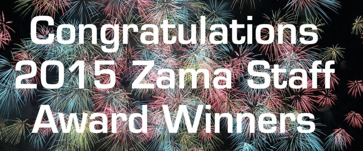 2015 Zama Staff Awards