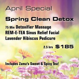 April Special: Spring Clean Detox