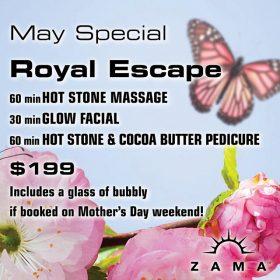 May Special: Royal Escape