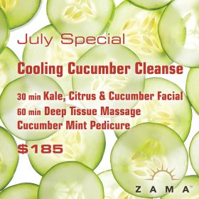 July Special: Cooling Cucumber Cleanse