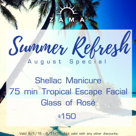 August Special: Summer Refresh