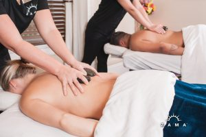 Sweetheart Hot Stone Couples Massage