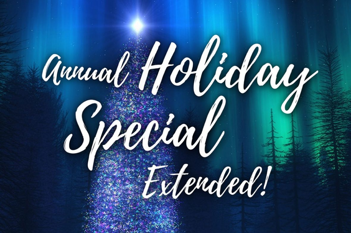 Zama's Holiday Special is Extended to Jan 15!